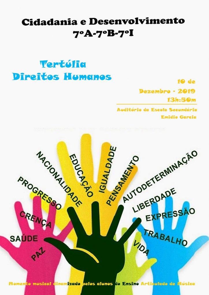 cartaz direitos humanos